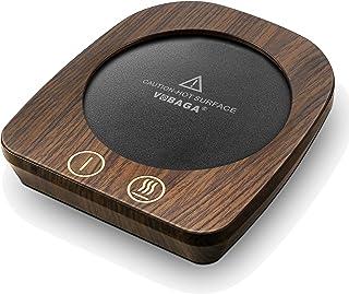 VOBAGA Imitation Wood Grain Coffee Cup Warmer & Mug Warmer For Desk, Electric Cup..
