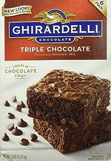 Ghirardelli Triple Chocolate Brownie Mix-7.5 lbs