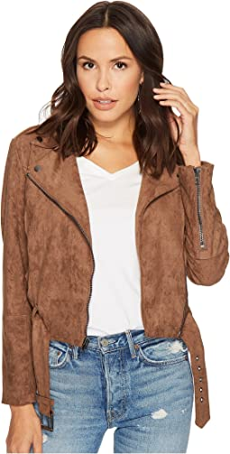 BB Dakota - Waller Faux Suede Moto Jacket