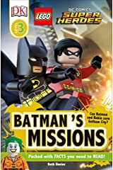 DK Readers L3: LEGO® DC Comics Super Heroes: Batman's Missions: Can Batman and Robin Save Gotham City? (DK Readers Level 3) Paperback