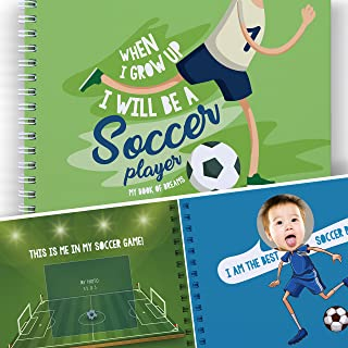 Soccer Activity Book For Kids: When I grow Up I Will be a...