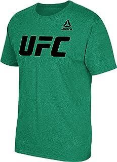 تي شيرت رجالي بأكمام قصيرة ورقبة دائرية بشعار UFC Essentials من Reebok