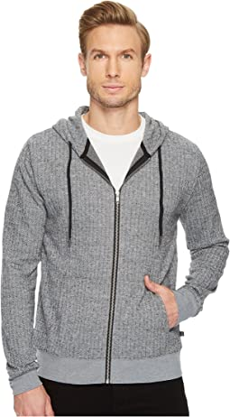 Threads 4 Thought - Herringbone Zip Hoodie