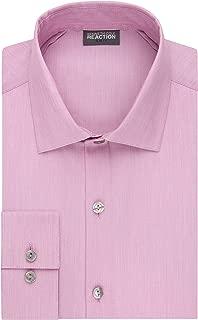 Men's Dress Shirt Slim Fit Technicole Stretch Solid
