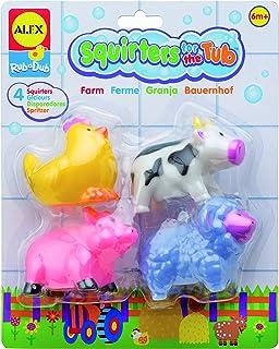 Alex Bath Squirters Farm Toy,Multicolor