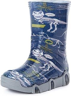 Botas de Agua Zapatos de Seguridad Calzado Unisex Niños SwkBW