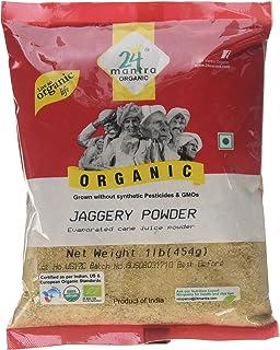 24 Mantara 24 Mantra Organic Jaggery Powder - 1 Lb,, ()