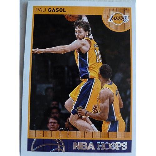 03b568e8b 2013-14 Panini Hoops  4 Pau Gasol Trading Card in a Protective Case -