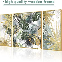 ARTLAND Hand-Painted 24x48-inch 'Blue Memory'3-Piece Gallery-Wrapped Abstract Oil Painting on Canvas Wall Art Set 12x24inchesx2 24x24jinchesx2