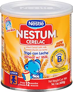 Nestle Nestum Cerelac Wheat Infant Cereal 14.1 oz. (Pack - 2)