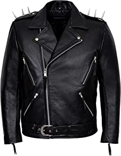 ghost rider spiked jacket