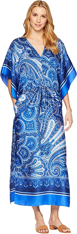 LAUREN Ralph Lauren Paisley Georgette Maxi Dress