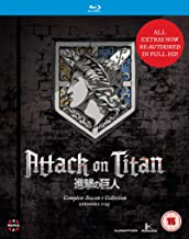 Attack On Titan: Complete Season One Collection Blu-ray UK I