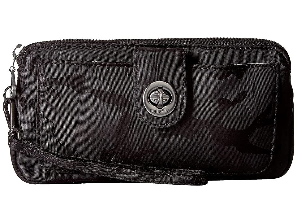 Baggallini Lisbon RFID Wristlet (Camo) Wristlet Handbags