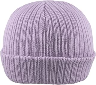 Pesci Baby Girls or Boys Hat Beanie Cap Ribbed Knitted Wooly Hats Newborn to 12 Months