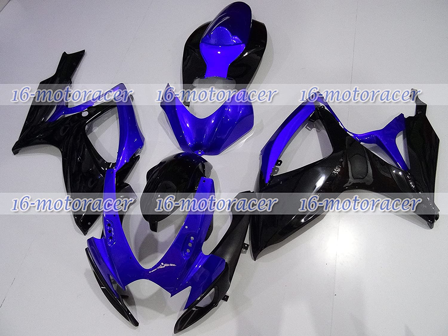 Year-end annual account Blue black ABS Direct sale of manufacturer Injection Mold Fairing 2006- Bodywork Kit for Fit