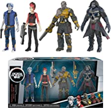 Funko Parzival, Aech, Art3mis, i-R0k x Ready Player One Mini Action Figure Set + 1 Classic Sci-fi & Horror Movies Trading Card Bundle