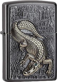 Zippo 18547 Crokodil Emblem-2006315-Gray Dusk-Spring 2019 Chrome