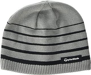 2017 Thermal Fleece Stripe Beanie Knitted Mens Golf Hat