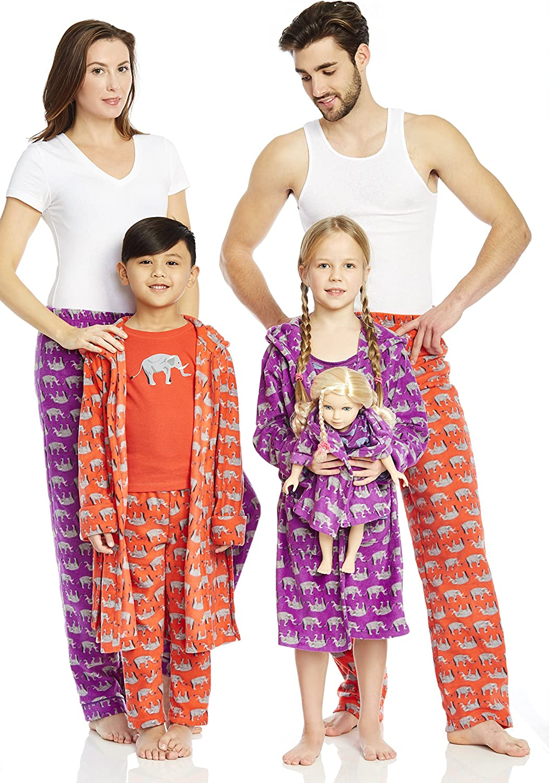 Weihnachtspyjama XXL Schlafanzughose Gr/ö/ße XS Leveret Herren-Pyjamahose f/ür Lounge Fleece