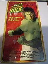 Trial of Incredible Hulk VHS