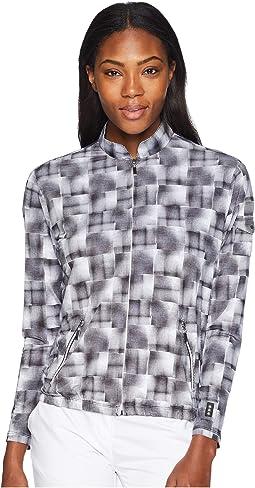 Hologram Print Sunsense® Full-Zip Jacket with 50 UVP