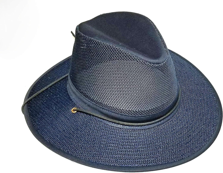Max 61% OFF Henschel National products Hats Aussie Breezer Hat Mesh 5310 Cotton
