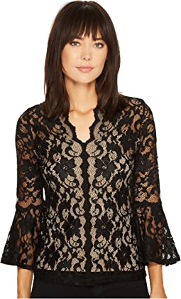 Karen Kane - Scallop Lace Top