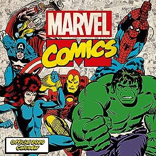 Marvel Comics 2020 Calendar - Official Square Wall Format Calendar
