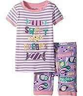 Kitty Candy Short Pajama Set (Toddler/Little Kids/Big Kids)