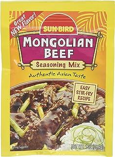 SUNBIRD MIX SSNNG BEEF MONGOLIAN, 1 OZ (pack of 10)