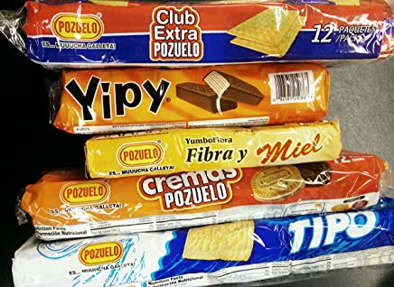 Pozuelo Cookies Verity Pack 5