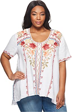 Johnny Was - Plus Size Libbie Drape Top
