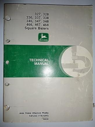 Amazon com: John Deere 347 Baler Manual: Books