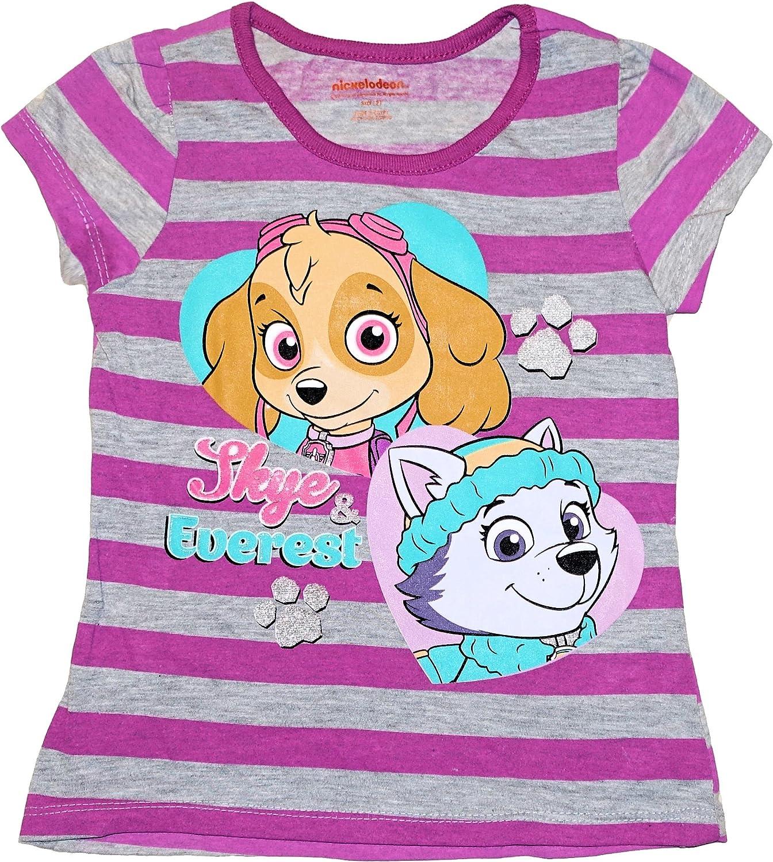 Paw Patrol Skye & Everest Toddler Little Girls Tee T-Shirt