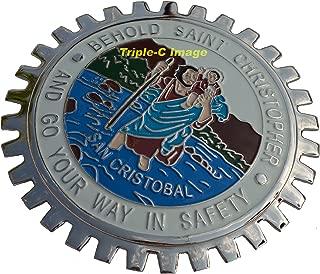 st christopher badge