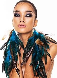 long blue earrings online