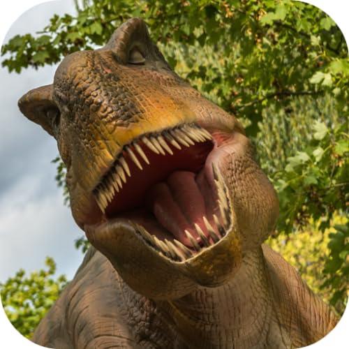 Dinosaur land : rompecabezas de dino para niños juegos gratis: sonidos de dino, rompecabezas y juegos de combinación