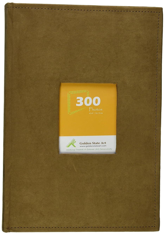 Golden State Art Photo Album, Holds 300 4