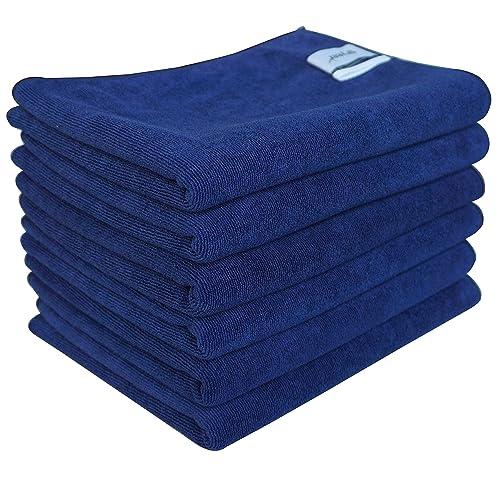 Blue Kitchen Towels Amazon Com