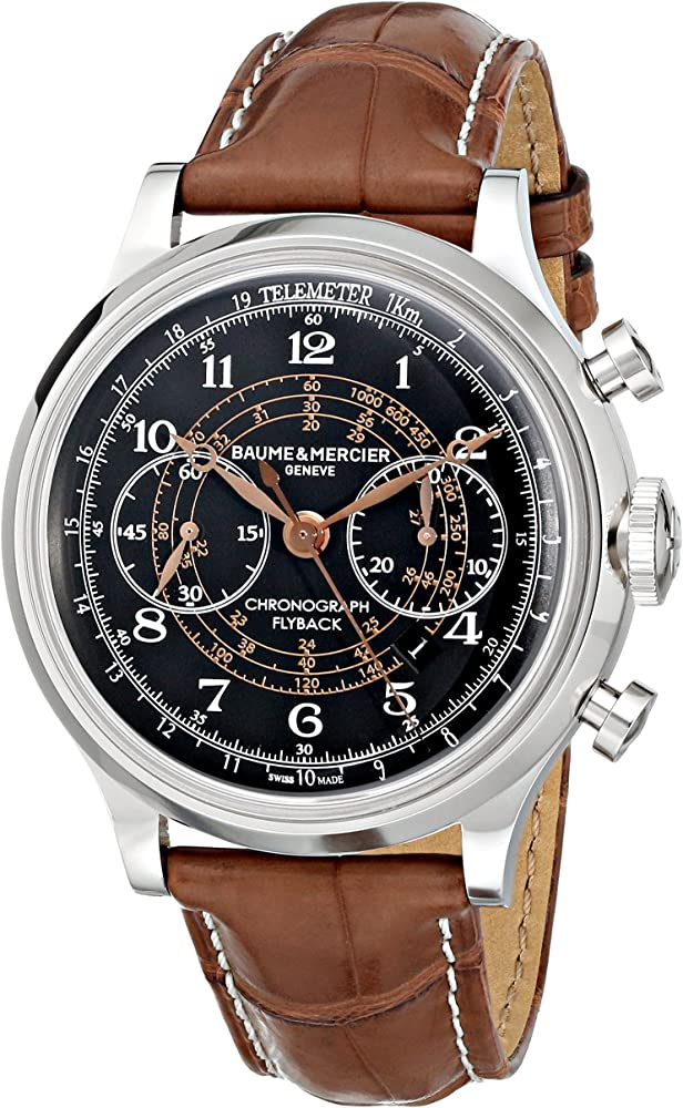 Baume & mercier orologio cronografo da uomo MOA10068