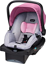 Best Evenflo LiteMax 35 Infant Car Seat, Easy to Install, Versatile & Convenient, Meets or Exceeds All Federal Safety Standards, Machine-Washable Pads, Full-Coverage Canopy, Azalea Pink Review