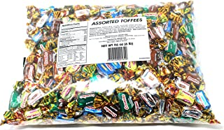 Arcor Assorted Toffee Candy, Flavored Caramel Chewy Candy, 6Lbs