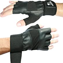 """Nordic Lifting Weight Lifting Gloves with 12"""" Wrist Wraps Support for Gym Workout, Cross Training, Weightlifting, Fitness ..."""