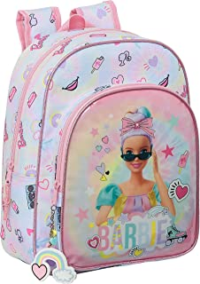 Mochila Safta Escolar Infantil Animada Girl Power, 260x110x340mm