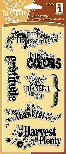 autorización Inkadinkado Harvest Harvest Harvest Expressions Clear Stamps by Inkadinkado  El nuevo outlet de marcas online.