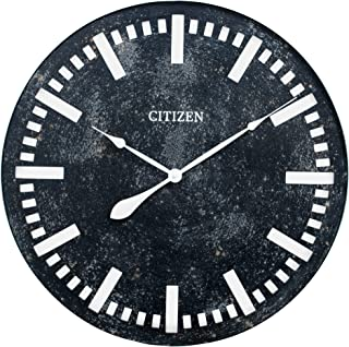 Citizen Clocks Citizen CC2045 Gallery Wall Clock, Iron