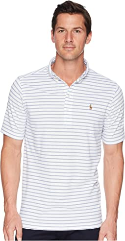Oxford Pique Short Sleeve Knit Polo