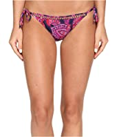 Tommy Bahama - Jacobean Floral Beaded String Bikini Bottom