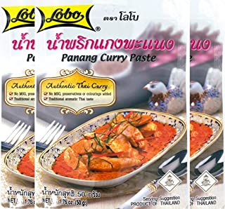 lobo panang curry paste